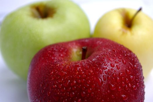 Three Apples 14859150 by StockProject1