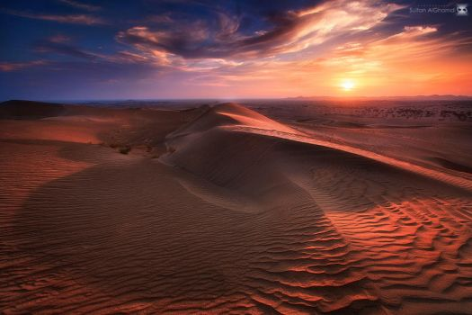 the shadow of dune. by sultan-alghamdi