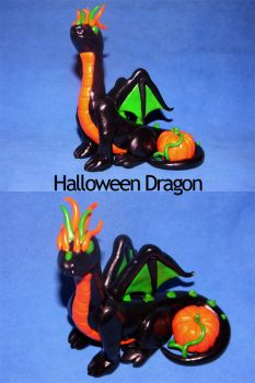 My First Dragon: Halloween Style by EcstaticDismay