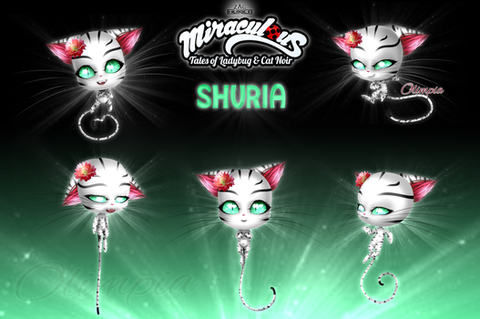 Shuria [Official Kwami] [Miraculous edit] by OlimpiaKitten