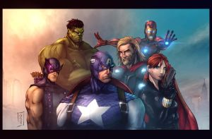 GSB Avengers by vest