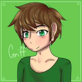 My brother Griffin by KitttyAnimations