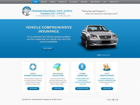 Layout for Non-life Insurance Company by harkalopchan