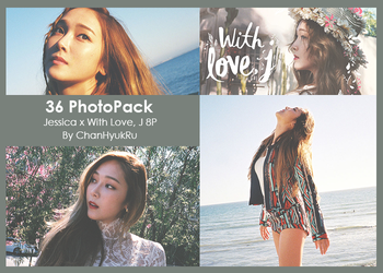 36 / Jessica x With Love, J PhotoPack by ChanHyukRu