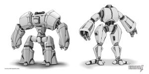 Mechs by ultrapaul