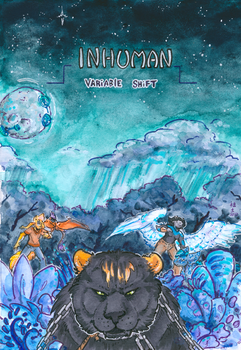 inhuman arc 16 -front cover- by not-fun