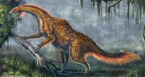 Nothronychus Graffami Restored by TheDragonofDoom