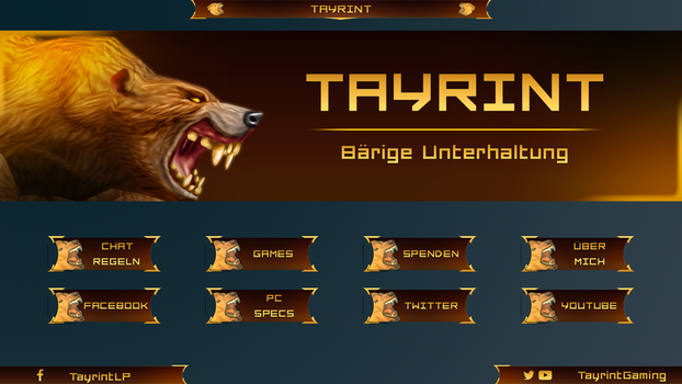 Twitch Design Tayrint by NannocDesign