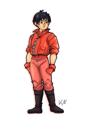 30 days of what inspires me - Day 8 Kaneda by Kaos-Felida