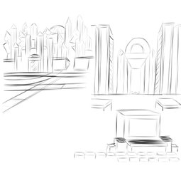 5.24.17 Background Sketches by shadowlord19