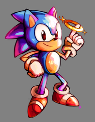 Happy 26th Birthday, Sonic! by Sushirolled