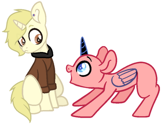 MLP Collab with Leo by kittycatsun