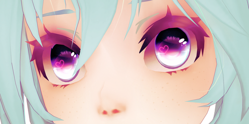 [MMD] Heart Eye Texture Download! by AyaneFoxey