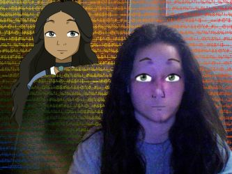 Creepy Katara Replaces My Face by Sustaining-Substance