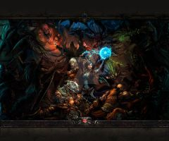 Diablo Dungeon Go Launcher Wallpaper 1 by Jekmyster