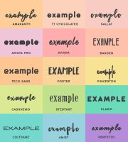 font pack #21 @wfres by wildfireresources