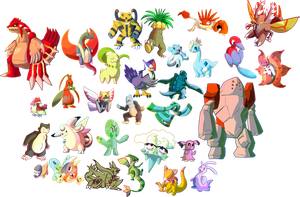 Daily Pokemon Doodles: November 2015 by DoctorNuclear