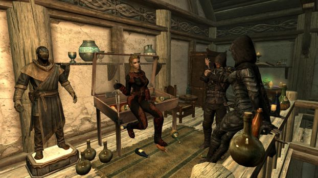 Party at the Dovahkiin. Part5. Who's the thief now by totalfreak2002