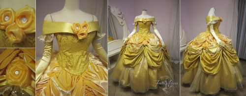 Belle Dress Disney Park Version by Firefly-Path