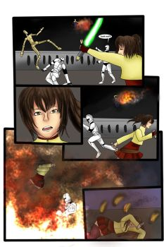 Star Wars comic AU The Good Soldier page 12 by DaiseyMae