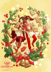 A Merry Gingerbread Christmas! by Livanya