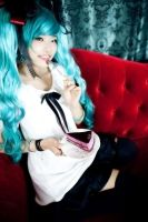 World is Mine_Miku cosplay2 by RoezNoah917