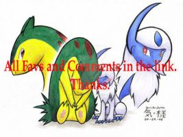 Absol and Typhlosion...