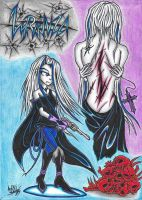 :2nd FanOC: - Lyrunza The Gothic Mercenary by AceOfSpeed94