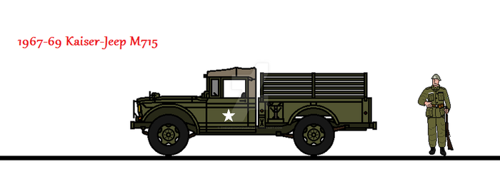 1967-69 Kaiser-Jeep M715 by thesketchydude13