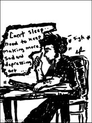 The Self Awareness of an Insomniac Artist by Dandy-Jon