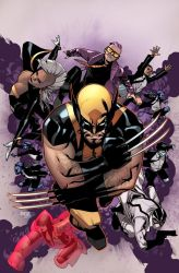 Wolverine And The X-Men 1 Cover by MahmudAsrar