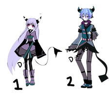 Demon adoptableS closed by Diana-AS