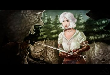 The Witcher 3 by Darkpaw2001