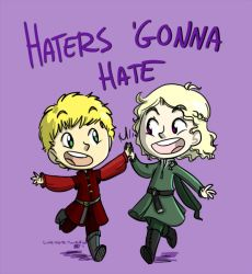 Haters Gonna Hate by littledigits
