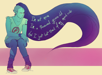 Marceline - A Thousand Years by Ma-rin
