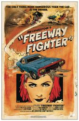 Freeway Fighter #1 variant cover  by RobertHack