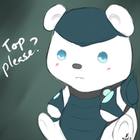 League of Legends: Volibear chibi by TheMuteMagician