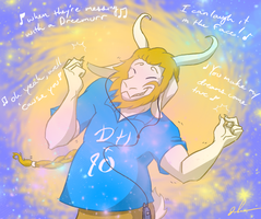 Asgore ~ Hall and Oats by BeJuled