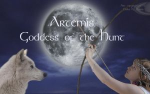 The Goddess Artemis: Wallpaper by jediprincess