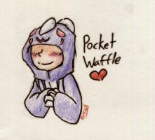 PocketWaffle by MotherofOnity