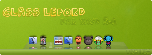 Skin Glass Leopord For XWD 5.6 by vizhiible