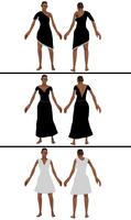 (Very) Simple Dress concepts by Nikolad92
