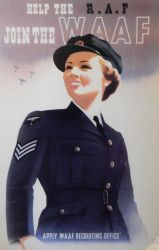 Help the RAF - Join the WAAF by rlkitterman