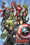Avengers: Age of Ultron Disneyland Exclusive print