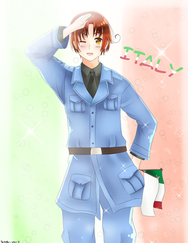 APH (Italy Fanart) by IciaChan