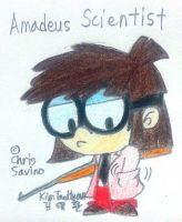 Lisa the Amadeus Scientist by komi114