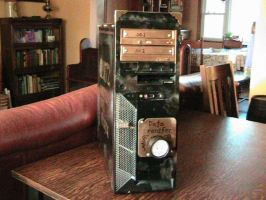 Model 1872 computational tower by PanzerForge