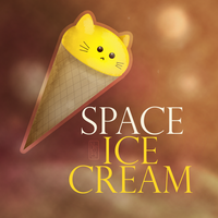 In space no one can hear you scream for ICE CREAM by Nekioka
