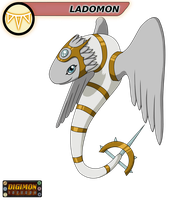 Digimon Inferno: Ladomon by HawkInAJazzyHat