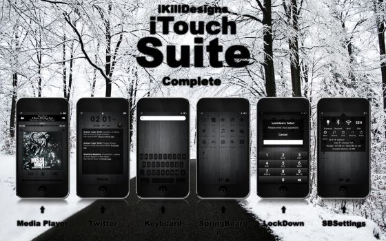 iKillDesigns iTouch Suite by iKillDesigns